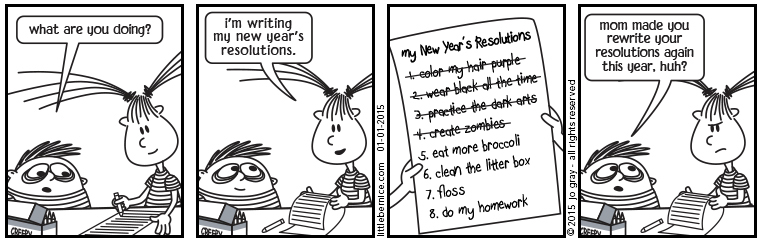 new year's resolutions 1
